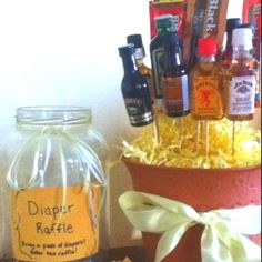 Diaper party raffle