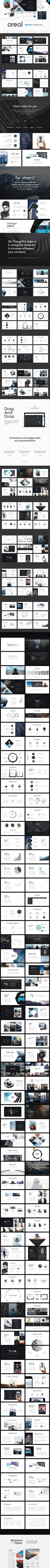 Oreol Keynote Template + GIFT. Presentation Templates