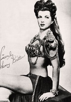 buRLesQue ~ Sherry Britton , 30s