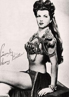 buRLesQue ~ Sherry Britton , 30s