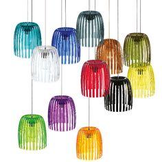 JOSEPHINE - Lámpara de techo M Marrón Transparente Koziol
