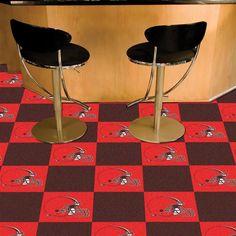 Cleveland Browns Carpet Tiles Flooring