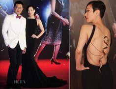 Sammi Cheng In Roberto Cavalli - 33rd Hong Kong Film Awards 4/13/14