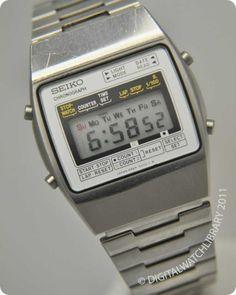 SEIKO - M929-5000 - m-series - Vintage Digital Watch - Digital-Watch.com