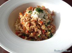 Aprende a preparar arroz a la milanesa con esta rica y fácil receta.  Sigue el paso a paso y aprende cómo hacer arroz a la milanesa, un plato de arroz caldoso con...