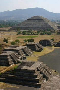 Piramide do Sol - Teotihuacan (Mexico)