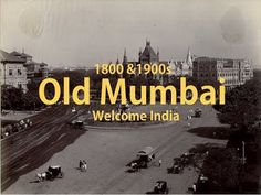 Old Mumbai:- Mumbai (formerly called Bombay) is a densely populated city on India's west coast. A financial center, it's India's largest city. On the Mumbai . Delhi City, Mumbai City, Bombay To Mumbai, City Of God, Amazing India, Vintage India, Shimla, City That Never Sleeps, Dream City