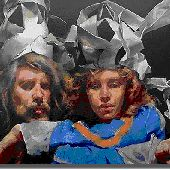 paper crowns Paper Crowns, Bibliophile, Painting, Art, Art Background, Painting Art, Kunst, Paintings, Performing Arts