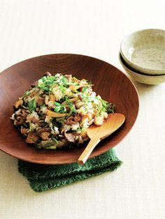 定番人気の炒め物を、ごはんに混ぜるだけ。|『ELLE a table』はおしゃれで簡単なレシピが満載!