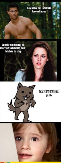 Jacob black= Pedo bear...