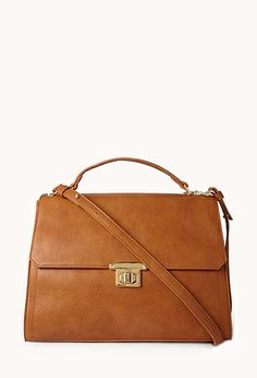 Classic bag! Boss Oversized Satchel $29.80 #ForeverHoliday #forever21 @Forever 21