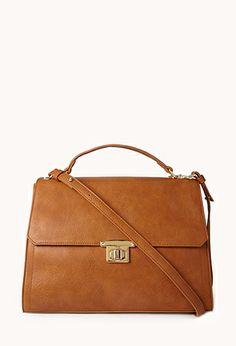Classic bag! Boss Oversized Satchel $29.80 #ForeverHoliday #forever21 @Forever 21