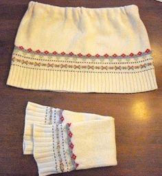I am seeing sweater skirts all over the place these days and I don't know about you but I am loving them! They are such a cute cold w...