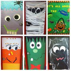 Halloween Doors...