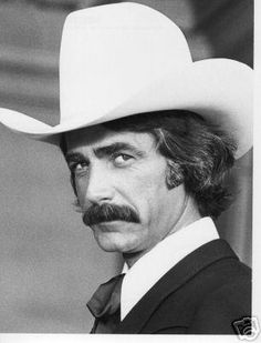 Sam Elliott--I think his 10 gallon hat is wearing him, not the other way around. He still looks great!*