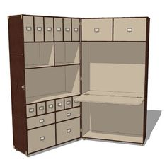 The Mayfair Steamer Secretary Trunk is a uniquely ....