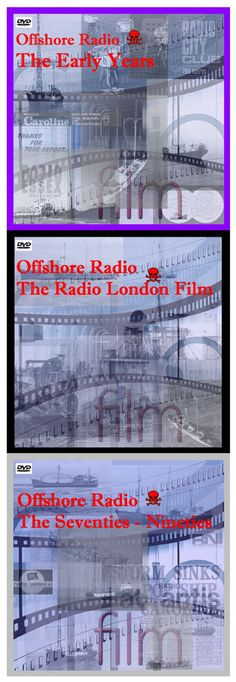 Pirate Radio - 3 DVD Films Offshore Radio Caroline, Radio London, RNI etc    eBay
