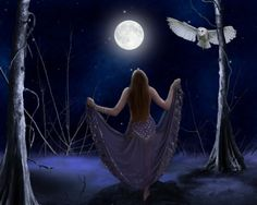 Full Moon Wiccan Goddess | Wiccan Moonsong