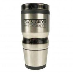 Law and order SUV coffee mug .