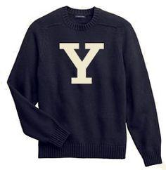 yale sweater $70