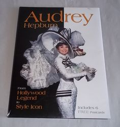 Audrey Hepburn Postcards & Book New Pictures Film Reviews & More
