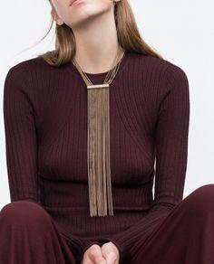 Zara Multi Chain Necklace