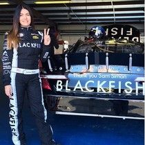 "She Rides For ""Blackfish"": NASCAR Driver Leilani Munter And Her 200 Mph Billboard."