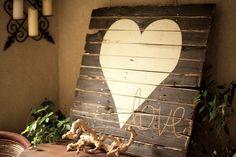 Handmade art....    pallet signs   pallet art