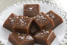 Autumn caramels are like a little bite of fall! These soft, silky homemade caramels have a buttery texture and a wonderfully warm fall flavor.