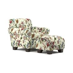 Shop for Handy Living Winnetka Cream Multi Floral Arm Chair and Ottoman Set. Get free shipping at Overstock.com - Your Online Furniture Outlet Store! Get 5% in rewards with Club O! - 22760836