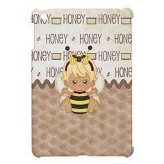 Cute Little Baby Bee iPad Mini Case