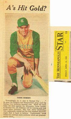Kansas City Athletics, 1963.