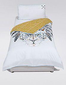 cherokee tiger bedding set