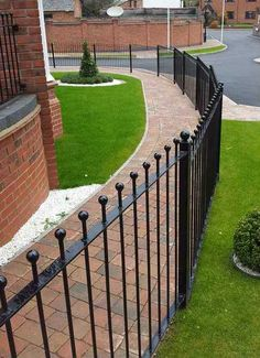 ball top garden railings images - Google Search