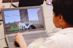 How to encourage connection and learning through Minecraft Kara S. Anderson