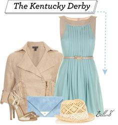 """""""Kentucky Derby"""" by bella8 ❤ liked on Polyvore"""