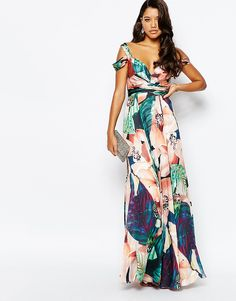 Image 4 of Forever Unique Sweetheart Maxi Dress With Could Shoulder Summer Wedding Outfits, Wedding Attire, Dress Wedding, Trendy Dresses, Fashion Dresses, Summer Dresses, Maxi Dresses, Floral Dresses, Maxis
