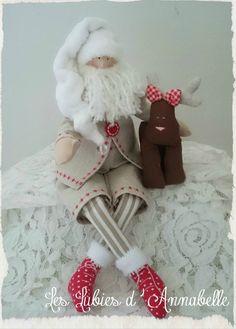 Père Noël traditionnel Tilda