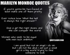 marilyn monroe quotes - Google Search