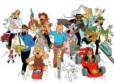 1978 ☀ En route pour Noël, « Le paradis des jouets » • On the way towards Christmas, « Toys paradise ». Illustration pour le catalogue de jouets du grand magasin la Samaritaine.
