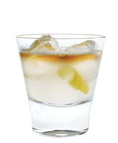 Greek Lemonade - Ouzo, Fresh Lemon Juice, Simple Syrup, Metaxa Brandy Floater