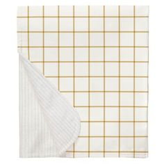 Mustard Windowpane Crib Blanket made with care in the USA by Carousel Designs. Yellow Nursery, Nursery Neutral, Free Fabric Swatches, Carousel Designs, Crib Blanket, Repeating Patterns, Gender Neutral, Cribs, Mini