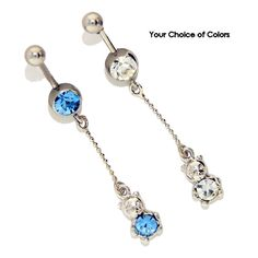 The Gem Set Teddy Bear Dangle Curved Barbell is a really cute piece. The Teddy Bear has a gem in his belly and the barbell has a gem to match. This piece is made out of Surgical Steel and would be a cute addition to your piercing collection.  http://www.shareasale.com/r.cfm?B=65193&U=975189&M=10909&urllink=