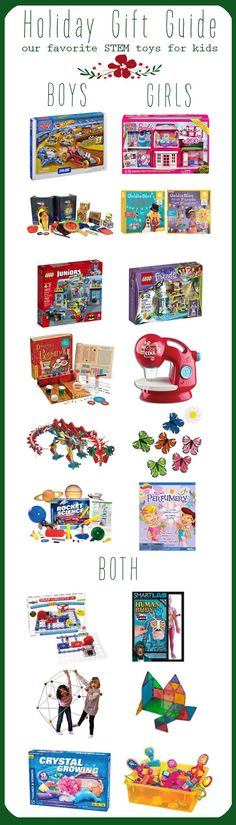We Know Stuff | Our favorite STEM toys for kids | Gift Guide & Giveaway