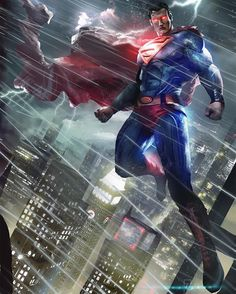 Hello there. Here´s finally my SuperMan FanArt! After Venom, Batman and Deadpool the man of steel Join to my fan art collection! Actually this piece can work together with Batman Art in one bigger piece! I dont know if i will change anything but C & C Batman Vs Superman, Poster Superman, Arte Do Superman, Posters Batman, Mundo Superman, Poster Marvel, Superman Artwork, Superman Man Of Steel, Batman Art
