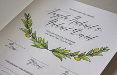 Calligraphy Inspiration: Flourish & Whim via Oh So Beautiful Paper