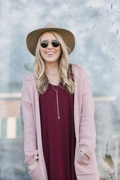 Pink and Burgundy | Valentine's Day Outfit Idea | Pearls & Twirls Life & Style Blog