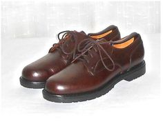 Timberland Men's Brown Leather Waterproof Oxford Shoe Size 10.5 M #Timberland #Oxfords