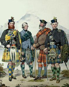 M22 - John MacLachlan, Hugh Grahame, James MacFarlane and Angus Colquhoun. Loch Lomond and Ben Lomond from Luss.
