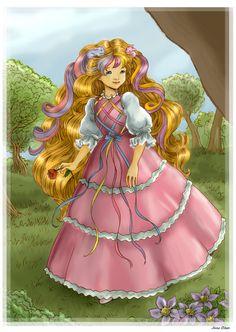 DeviantArt: More Artists Like Lady Lovely Locks by StariaChiba Little Poney, My Little Pony, Vintage Cartoon, Vintage Toys, Vintage Stuff, Lady Lovely Locks, Baby Painting, Rainbow Brite, Twilight Princess